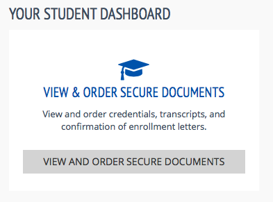 image of the george brown college student records account