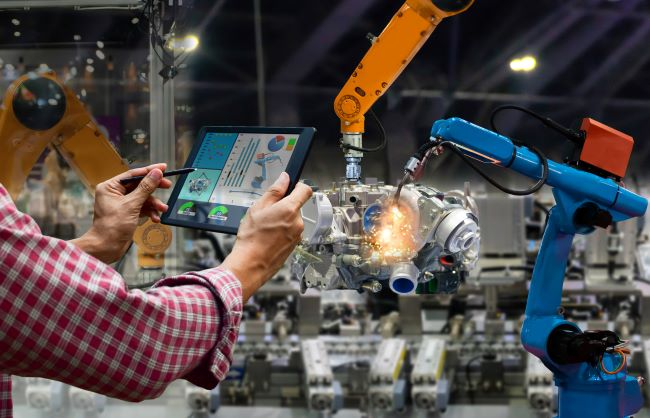 smart factories integrate plcs automation robotics