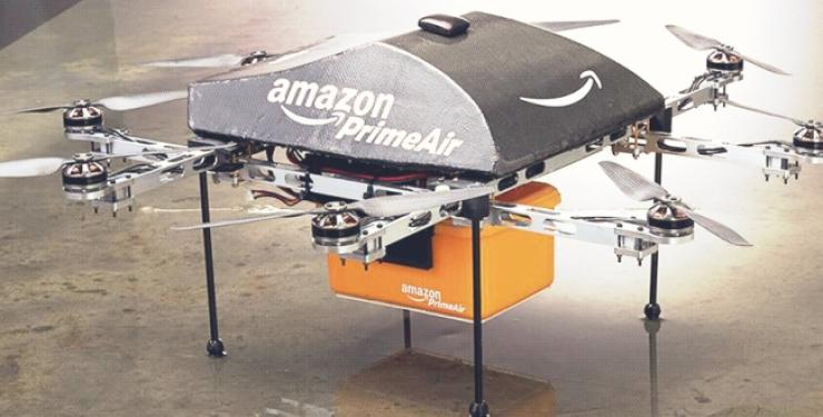 image of amazon drone